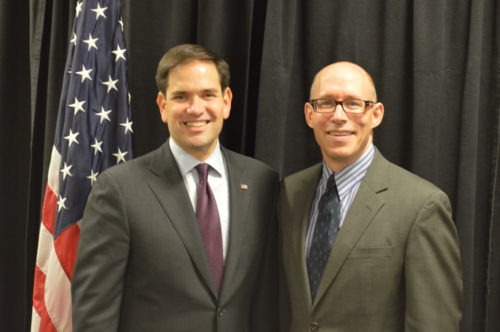 Scott Allen and Marco Rubio